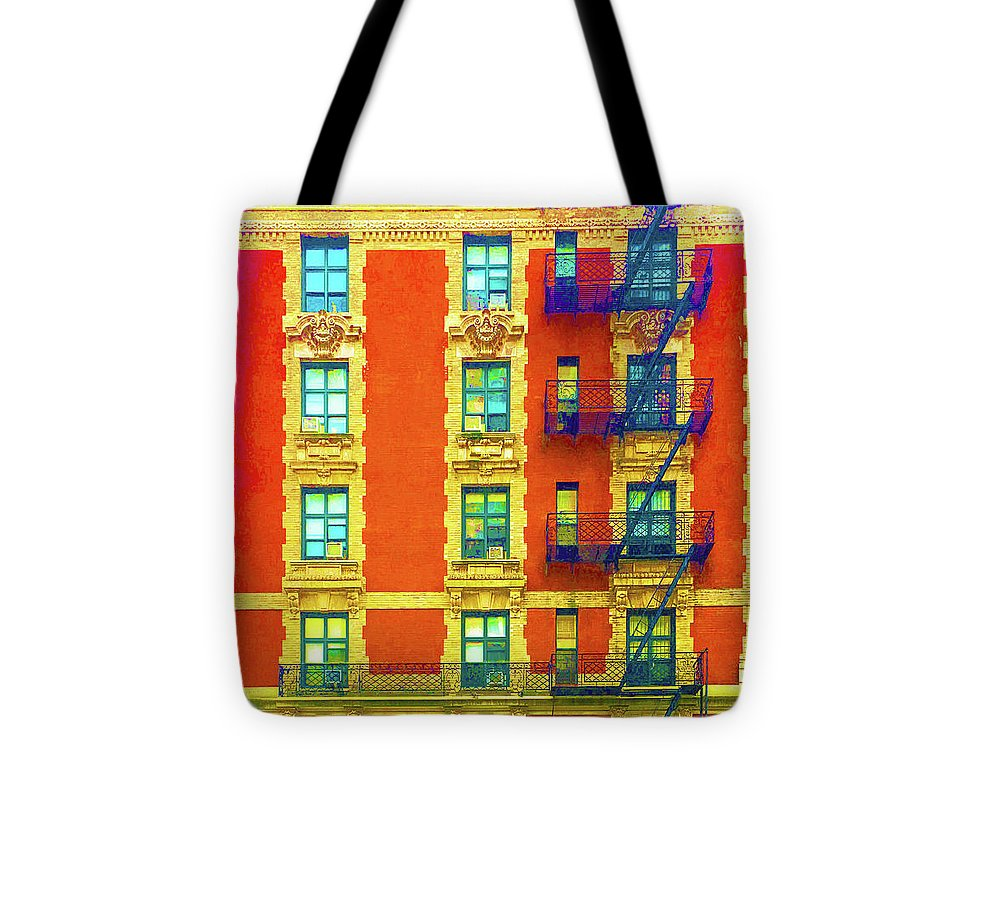 New York City Apartment Building 3 - Tote Bag