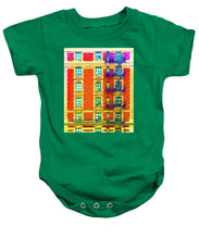 New York City Apartment Building 3 - Baby Onesie