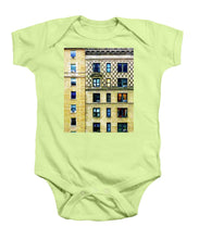 New York City Apartment Building - Baby Onesie