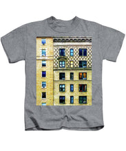 New York City Apartment Building - Kids T-Shirt