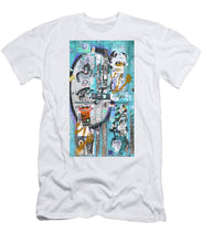 New York Door 1 - Men's T-Shirt (Athletic Fit)