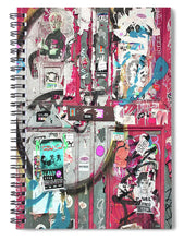 New York Door 3 - Spiral Notebook