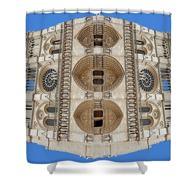 Notre Dame - Shower Curtain