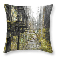 Of An Allyway - Throw Pillow