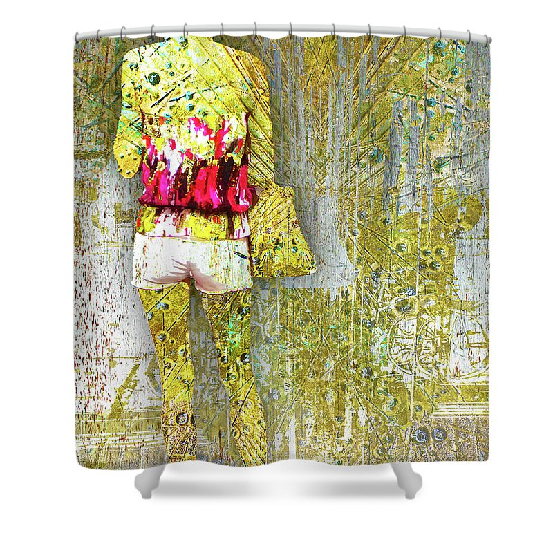 One Sec - Shower Curtain