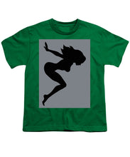 Our Bodies Our Way Future Is Female Feminist Statement Mudflap Girl Diving - Youth T-Shirt