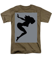 Our Bodies Our Way Future Is Female Feminist Statement Mudflap Girl Diving - Men's T-Shirt  (Regular Fit)