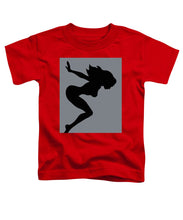 Our Bodies Our Way Future Is Female Feminist Statement Mudflap Girl Diving - Toddler T-Shirt