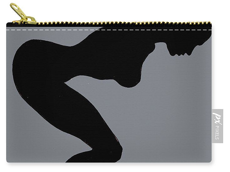 Our Bodies Our Way Future Is Female Feminist Statement Mudflap Girl Diving - Carry-All Pouch