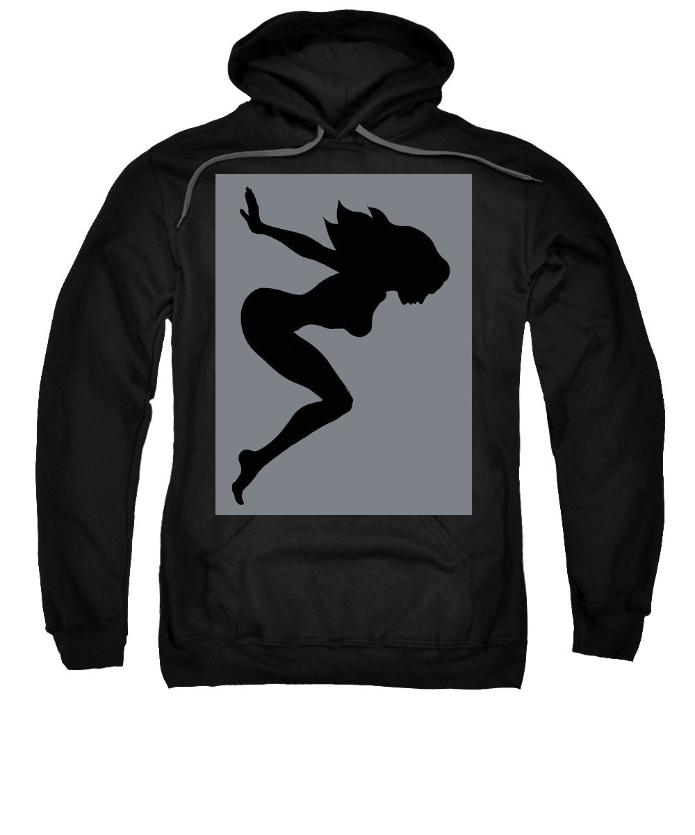 Our Bodies Our Way Future Is Female Feminist Statement Mudflap Girl Diving - Sweatshirt