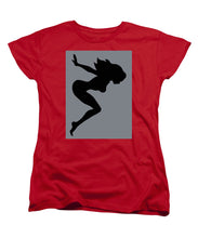 Our Bodies Our Way Future Is Female Feminist Statement Mudflap Girl Diving - Women's T-Shirt (Standard Fit)