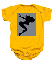 Our Bodies Our Way Future Is Female Feminist Statement Mudflap Girl Diving - Baby Onesie