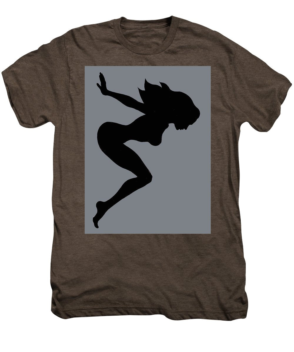 Our Bodies Our Way Future Is Female Feminist Statement Mudflap Girl Diving - Men's Premium T-Shirt