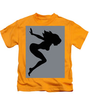 Our Bodies Our Way Future Is Female Feminist Statement Mudflap Girl Diving - Kids T-Shirt