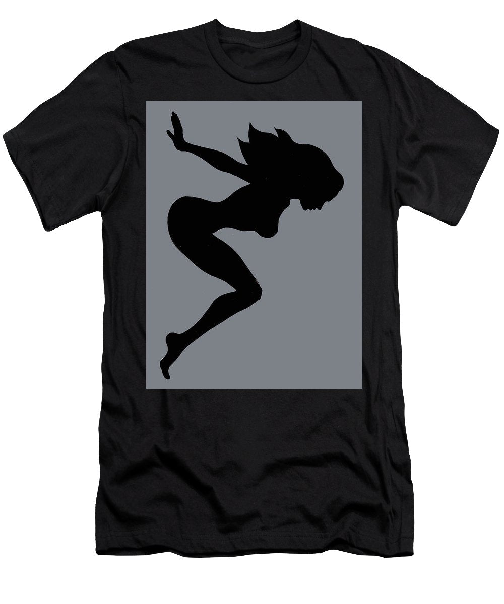 Our Bodies Our Way Future Is Female Feminist Statement Mudflap Girl Diving - Men's T-Shirt (Athletic Fit)