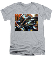 Painting Cold Chrome New York - Men's V-Neck T-Shirt