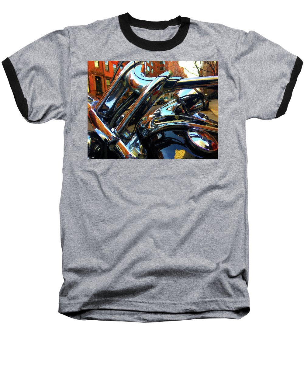 Painting Cold Chrome New York - Baseball T-Shirt
