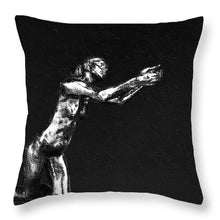 Painting Of The Implorer - Throw Pillow
