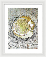Paved With Gold - Framed Print