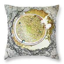 Paved With Gold - Throw Pillow