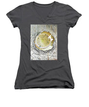 Paved With Gold - Women's V-Neck (Athletic Fit)