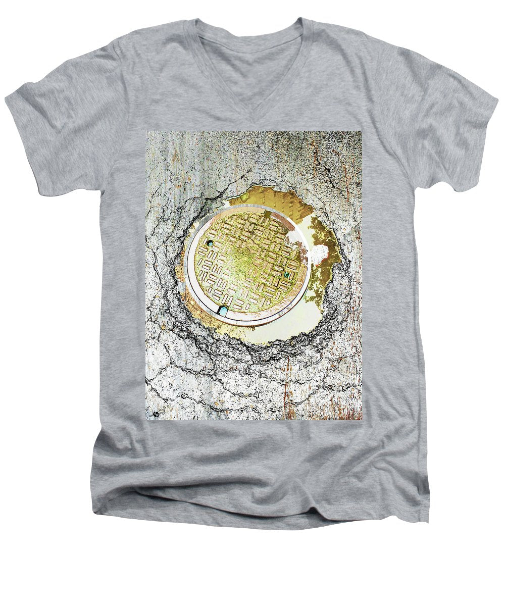Paved With Gold - Men's V-Neck T-Shirt