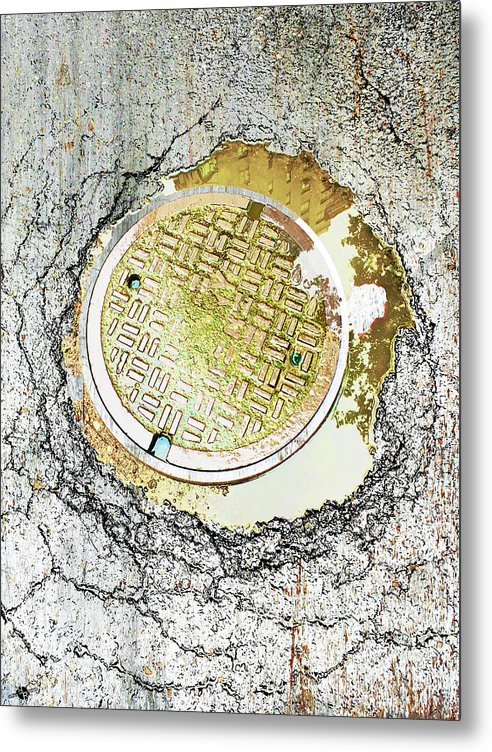 Paved With Gold - Metal Print