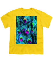 Peacock Or Flower 1 - Youth T-Shirt