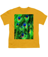 Peacock Or Flower 2 - Youth T-Shirt