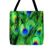 Peacock Or Flower 4 - Tote Bag