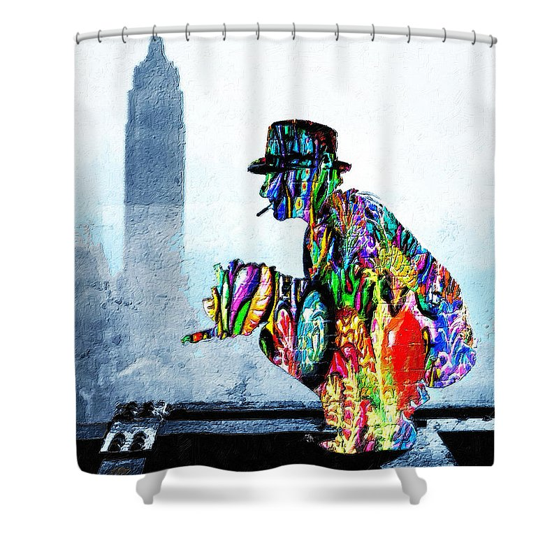 Photographer - Shower Curtain