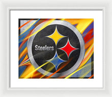 Pittsburgh Steelers Football - Framed Print