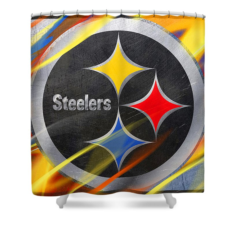 Pittsburgh Steelers Football - Shower Curtain
