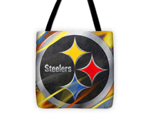 Pittsburgh Steelers Football - Tote Bag