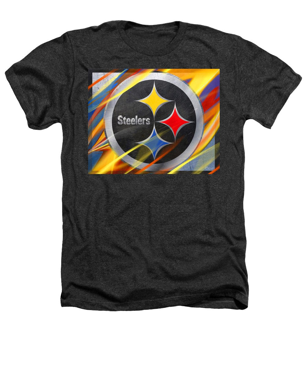 Pittsburgh Steelers Football - Heathers T-Shirt