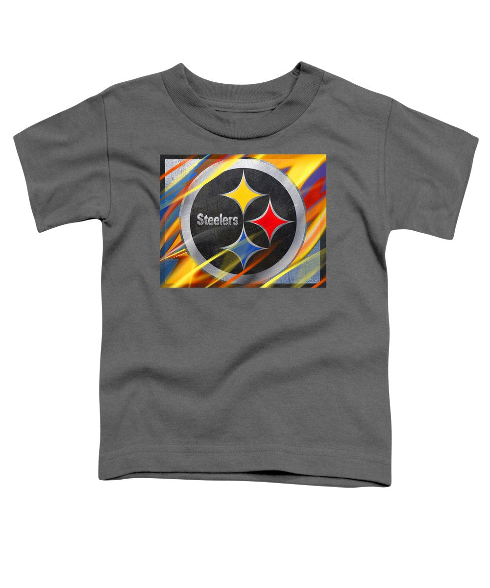 Pittsburgh Steelers Football - Toddler T-Shirt
