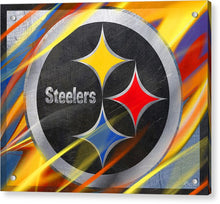 Pittsburgh Steelers Football - Acrylic Print