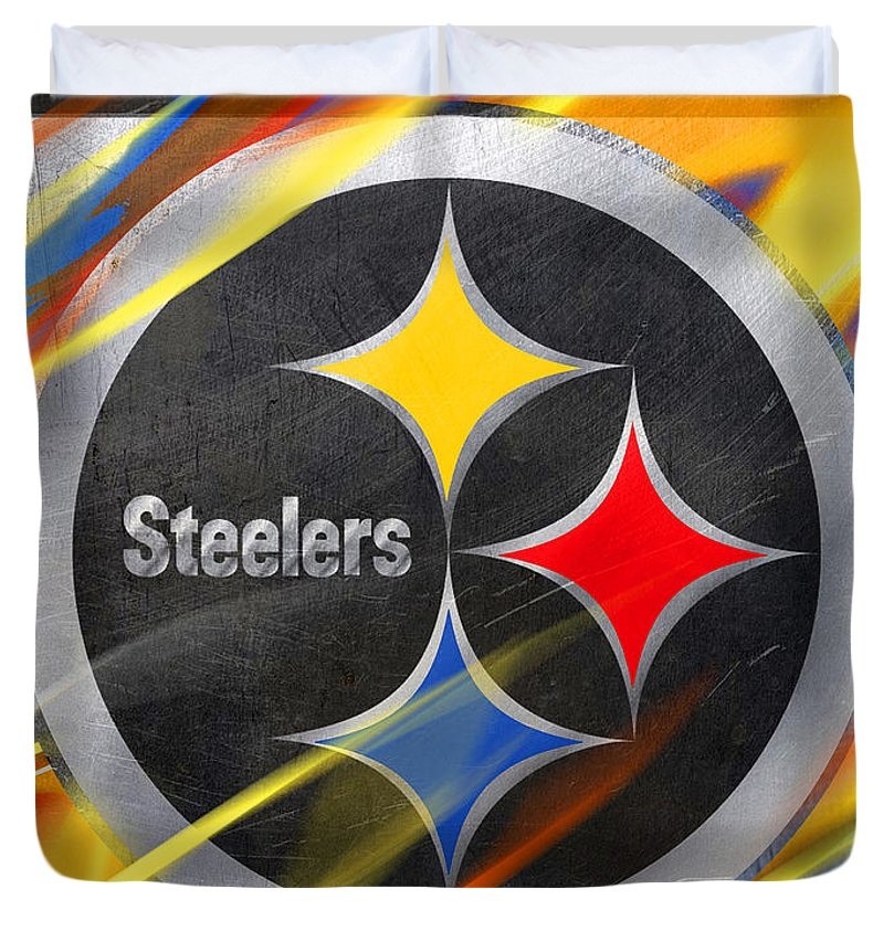 Pittsburgh Steelers Football - Duvet Cover