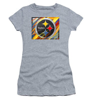 Pittsburgh Steelers Football - Women's T-Shirt (Athletic Fit)