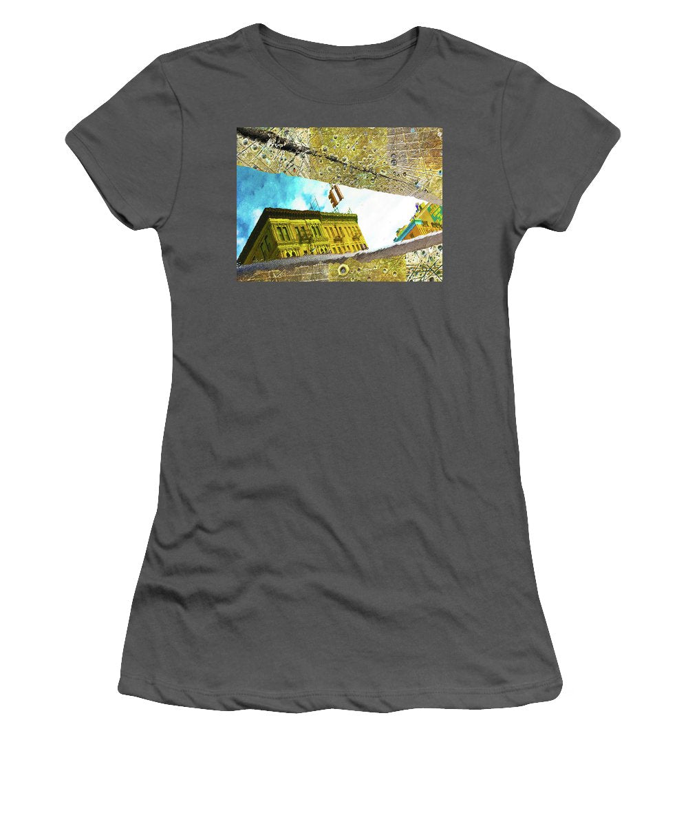 Puddle - Women's T-Shirt (Athletic Fit)