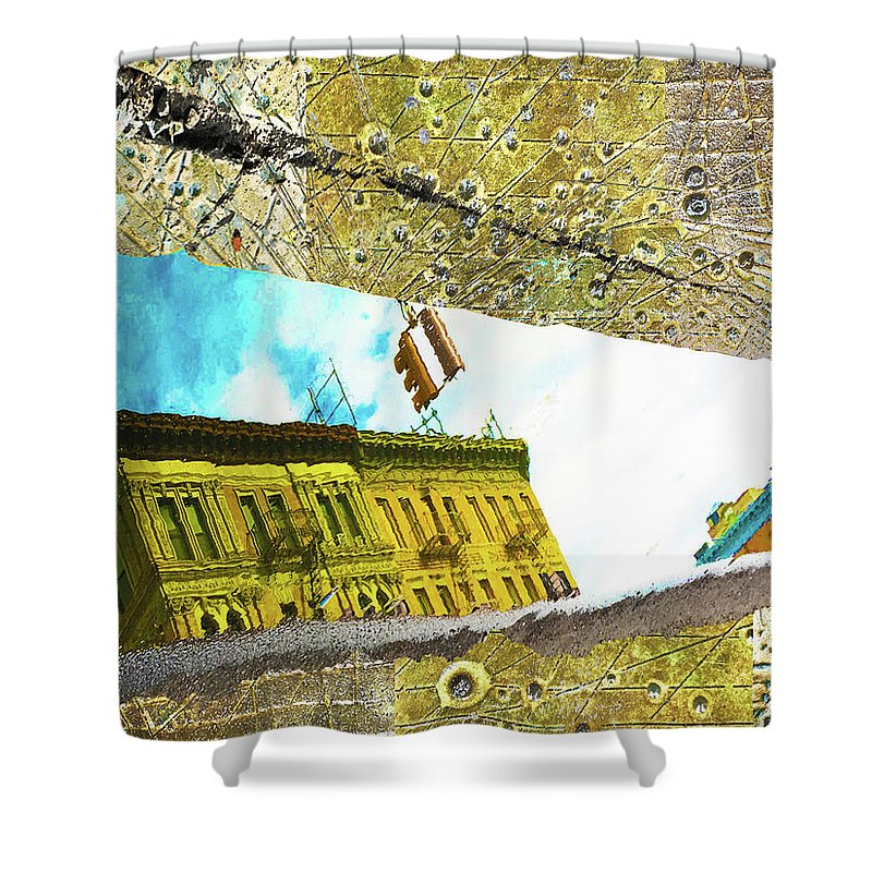 Puddle - Shower Curtain