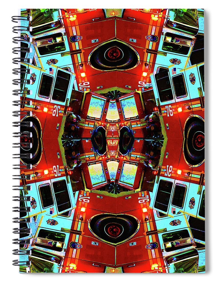 Red Cross - Spiral Notebook