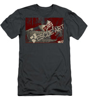 Rise Rescue Art - Men's T-Shirt (Athletic Fit)