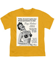 Rise 1950s Ad Parody - Youth T-Shirt