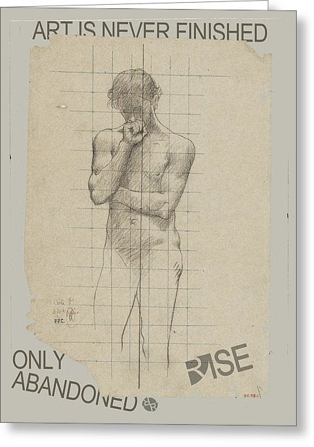 Rise Abandoned                                                           - Greeting Card