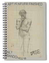 Rise Abandoned                                                           - Spiral Notebook