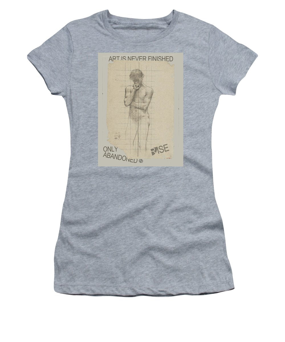 Rise Abandoned                                                           - Women's T-Shirt (Athletic Fit)