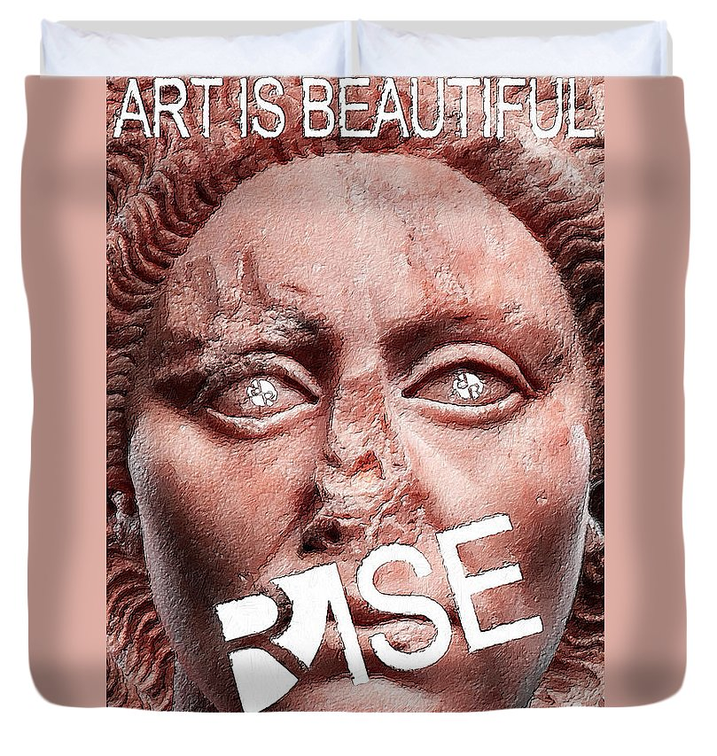 Rise Art Is Beautiful - Duvet Cover