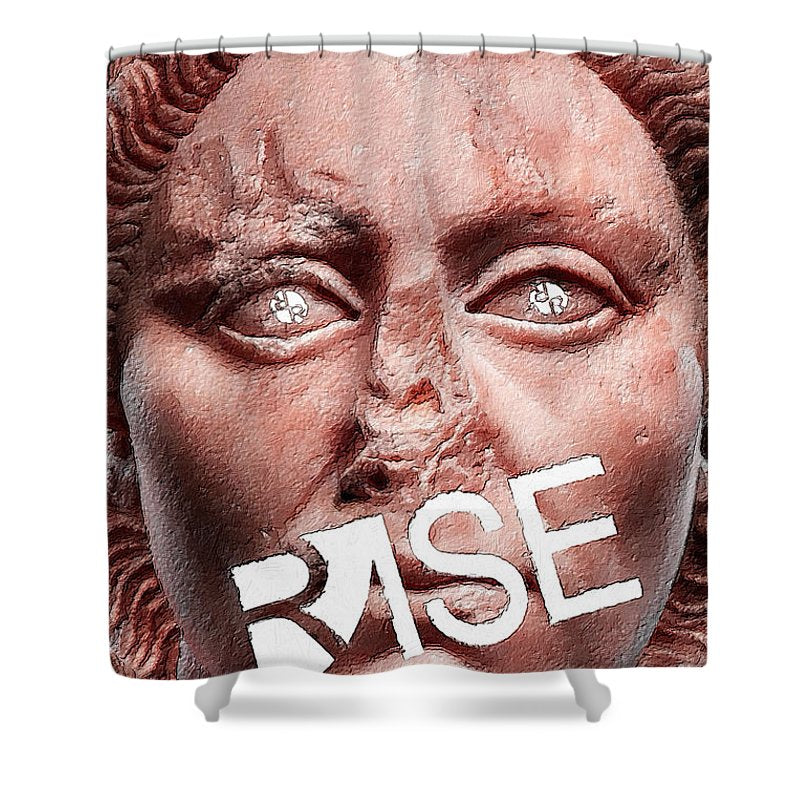 Rise Art Is Beautiful - Shower Curtain