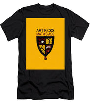 Rise Art Kicks Ass - Men's T-Shirt (Athletic Fit)